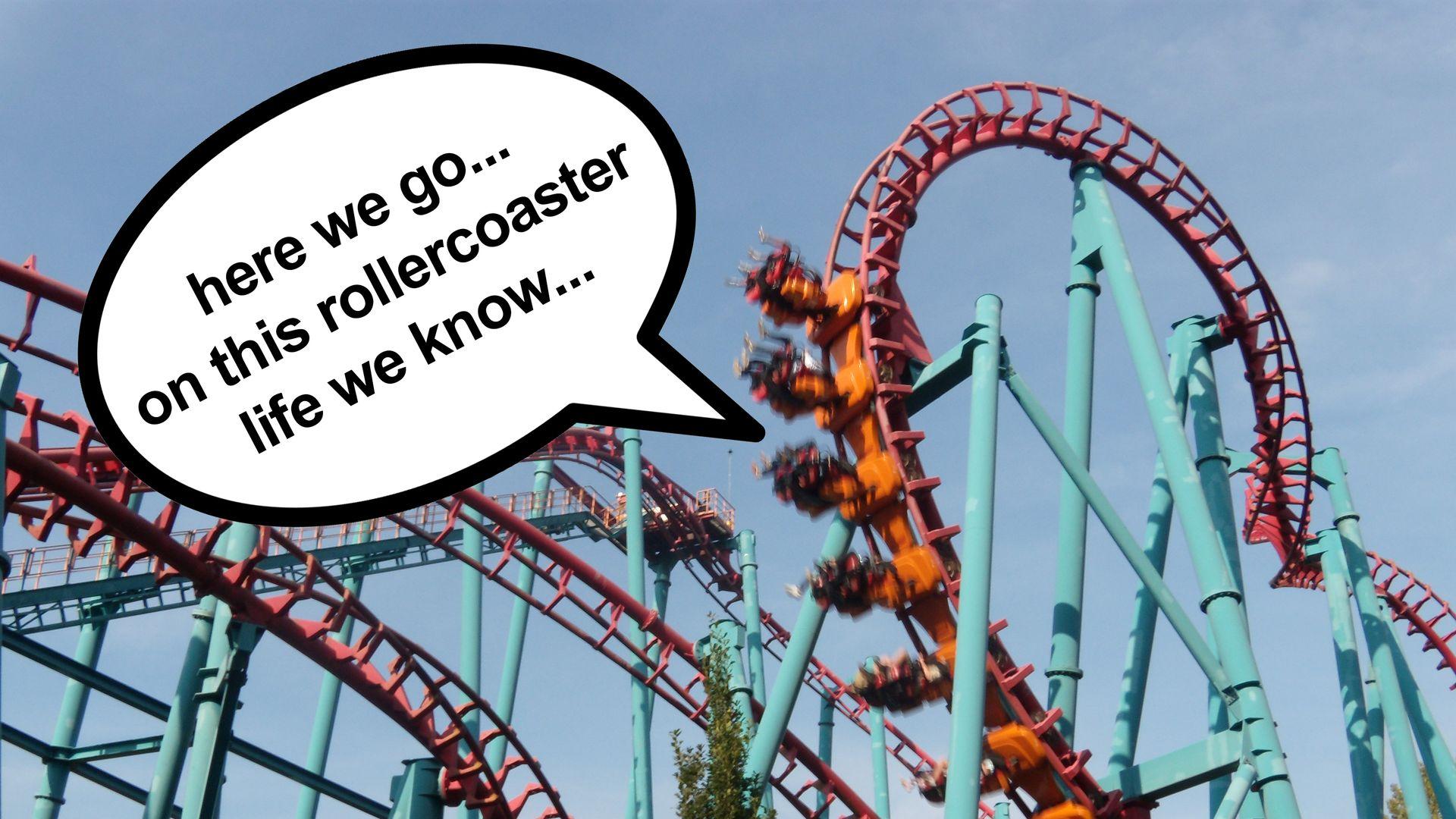 Factcheck: Zit Danny Vera in een rollercoaster?