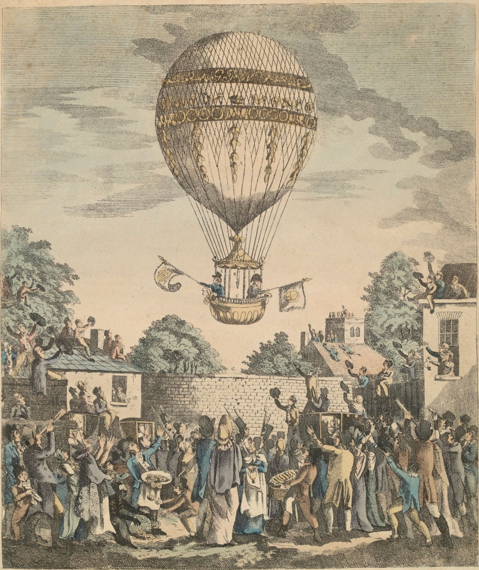 Geschiedlied: Edward II - Mr. Sadler's Balloon