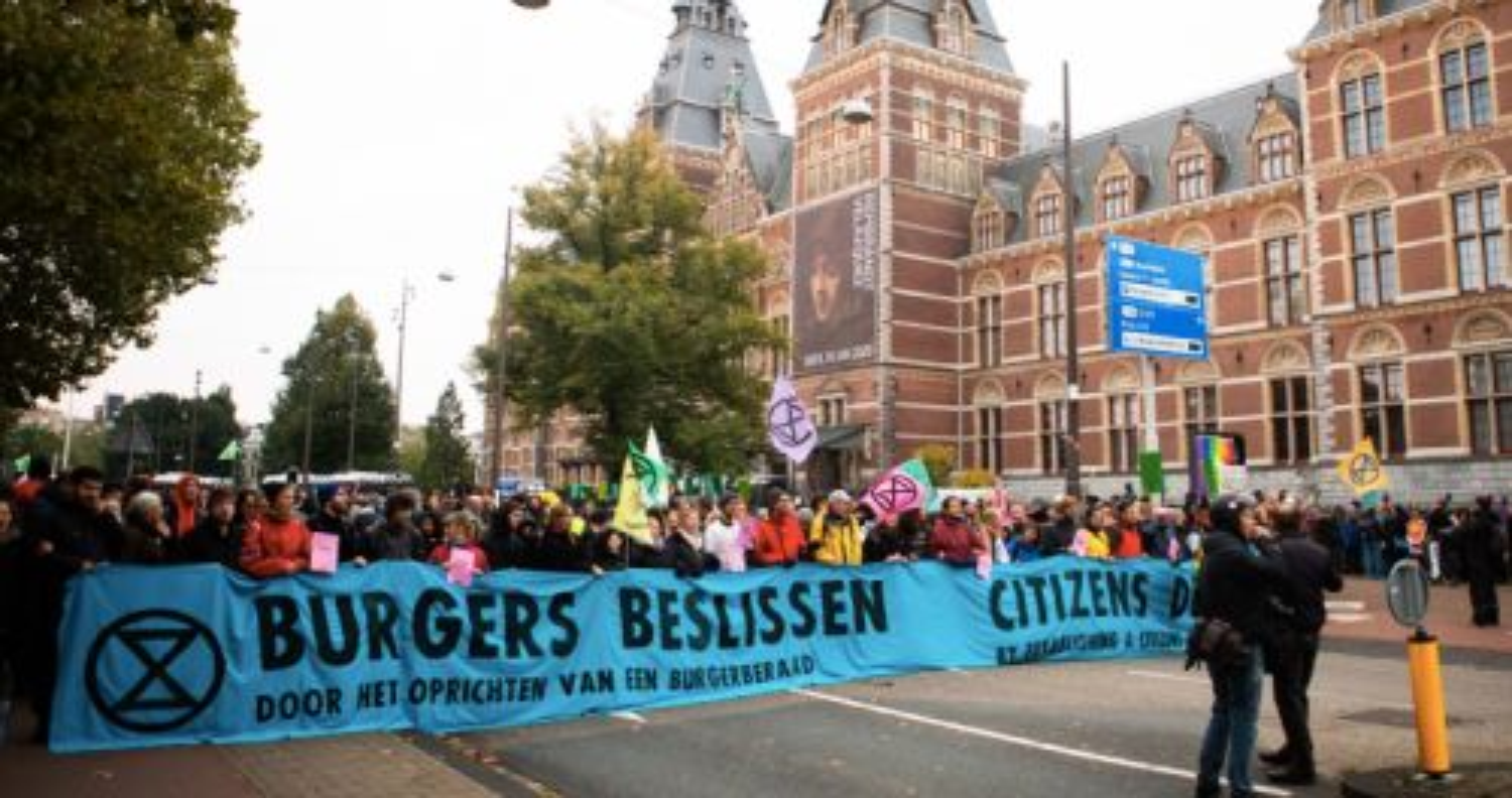 Extinction Rebellion gaat 'dood neer vallen' voor het klimaat