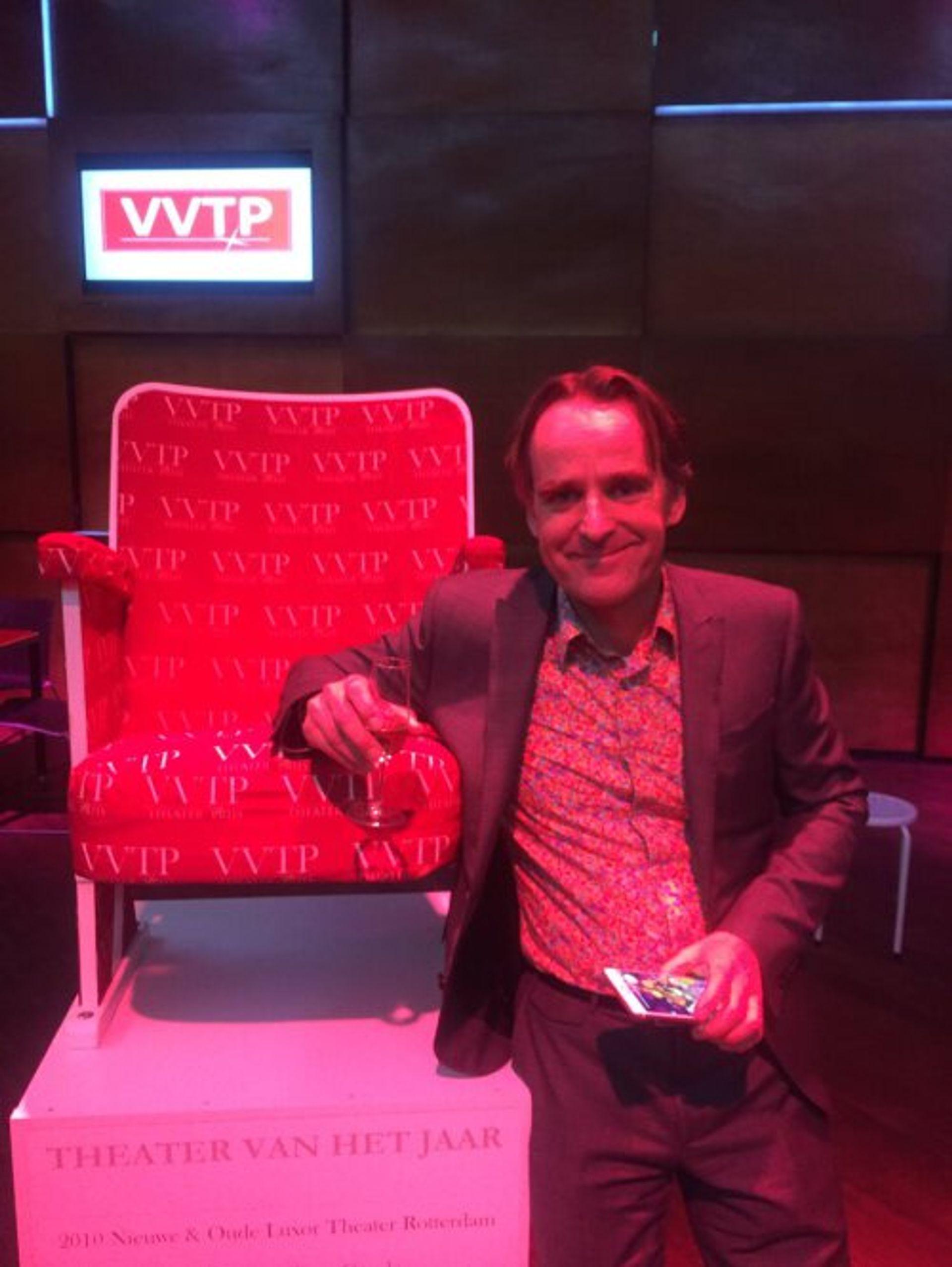 Charles Droste heeft het beste theater van Nederland!