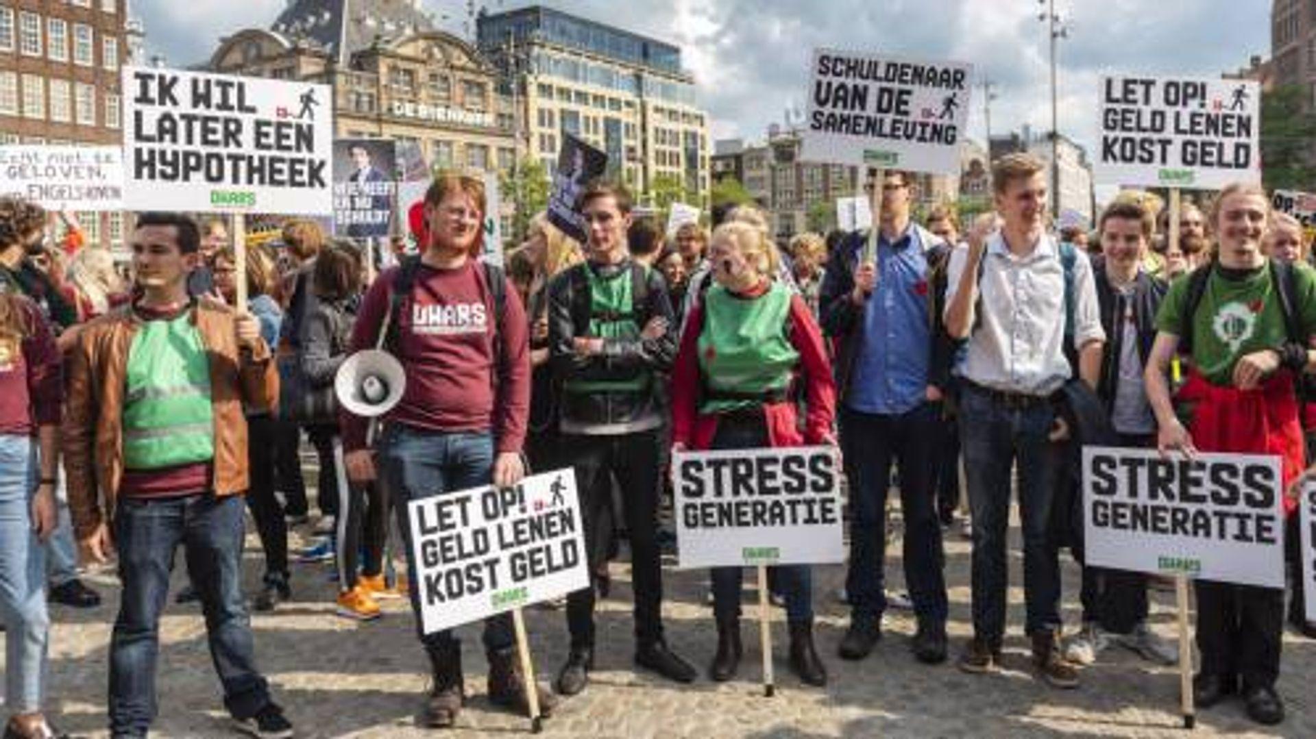 Studenten gaan 5.000 euro extra betalen om studieschuld af te lossen