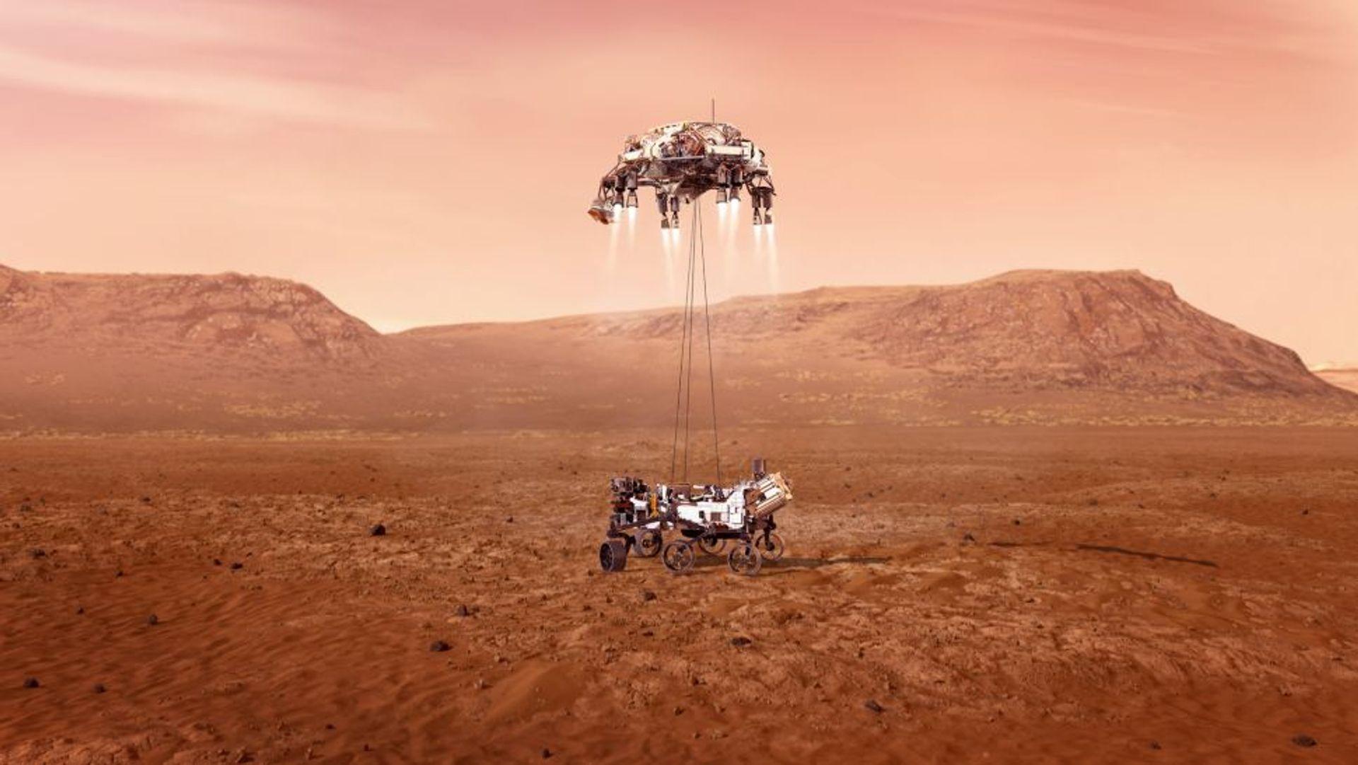 Ruimte-correspondent Marc Klein Wolt over het Marsrovertje van 2,2 miljard
