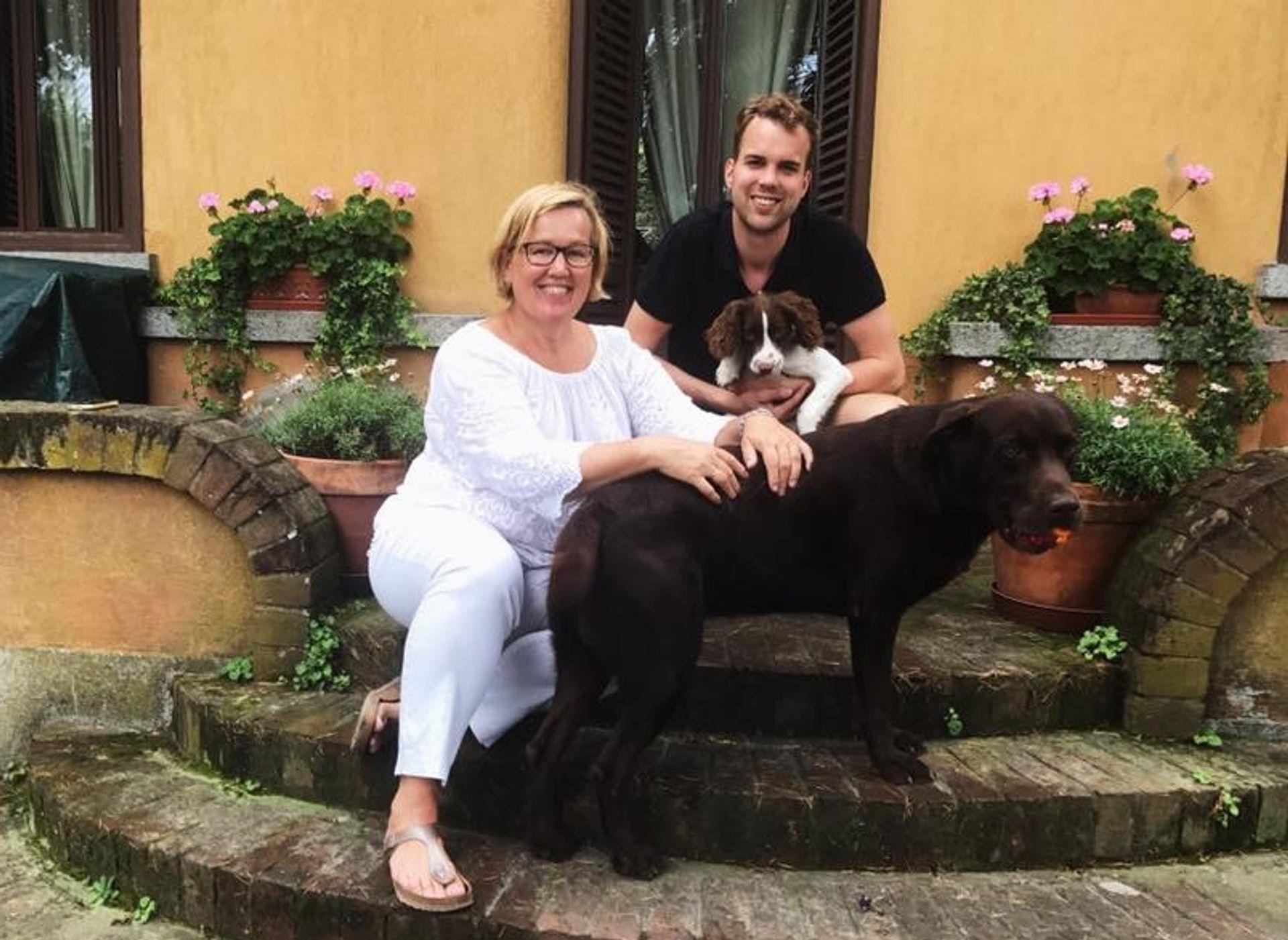 Wijnand belt met zijn tante uit Italië.. hoe gaat het met haar? #CORONA