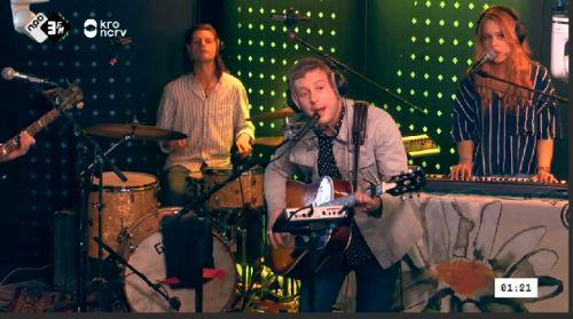 Electric Company - Mathilda (Live @ Kevin) #3FM #livemuziek