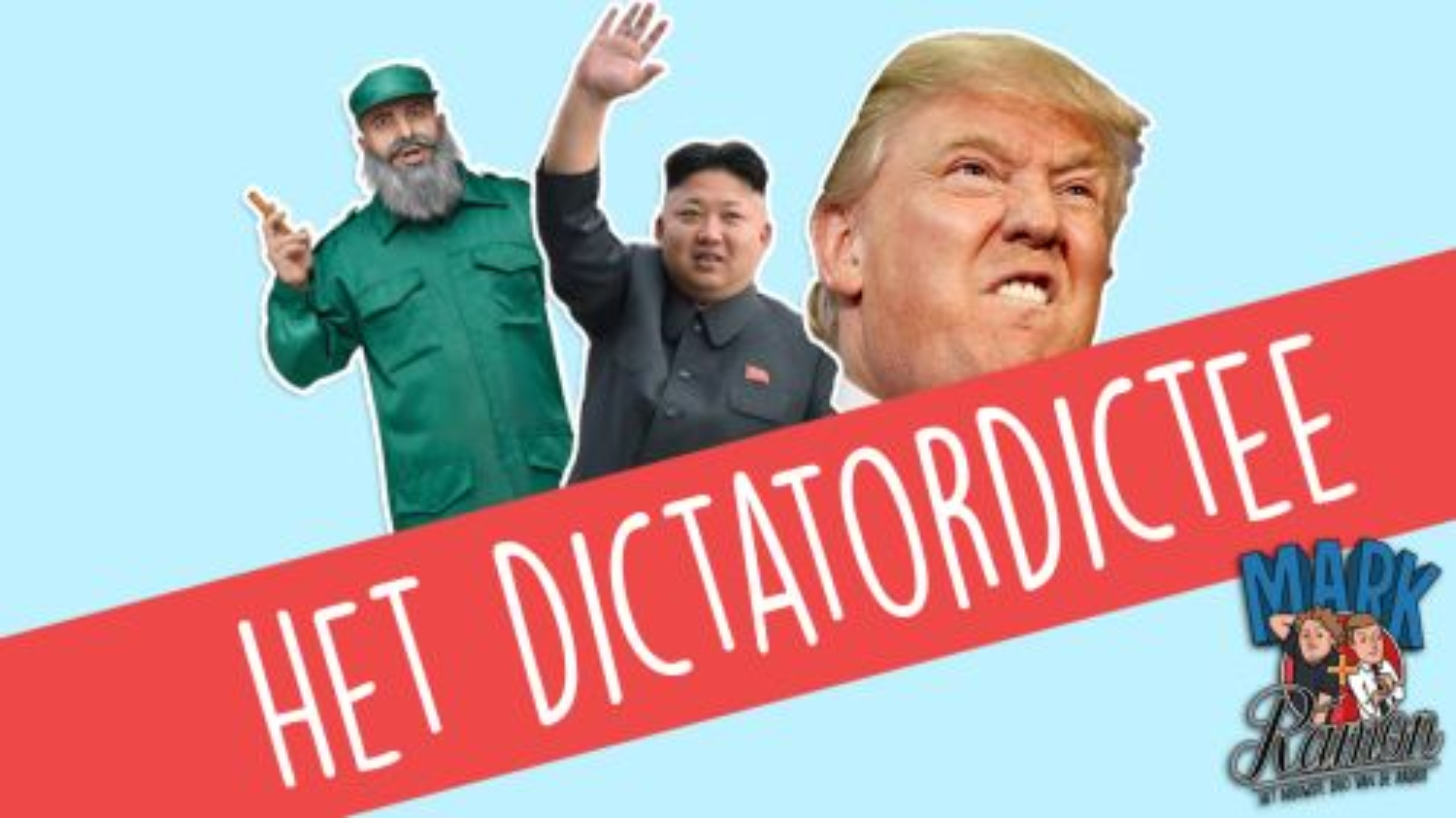 Dictatordictee: Oranje-tegenstander is stiekem dictator