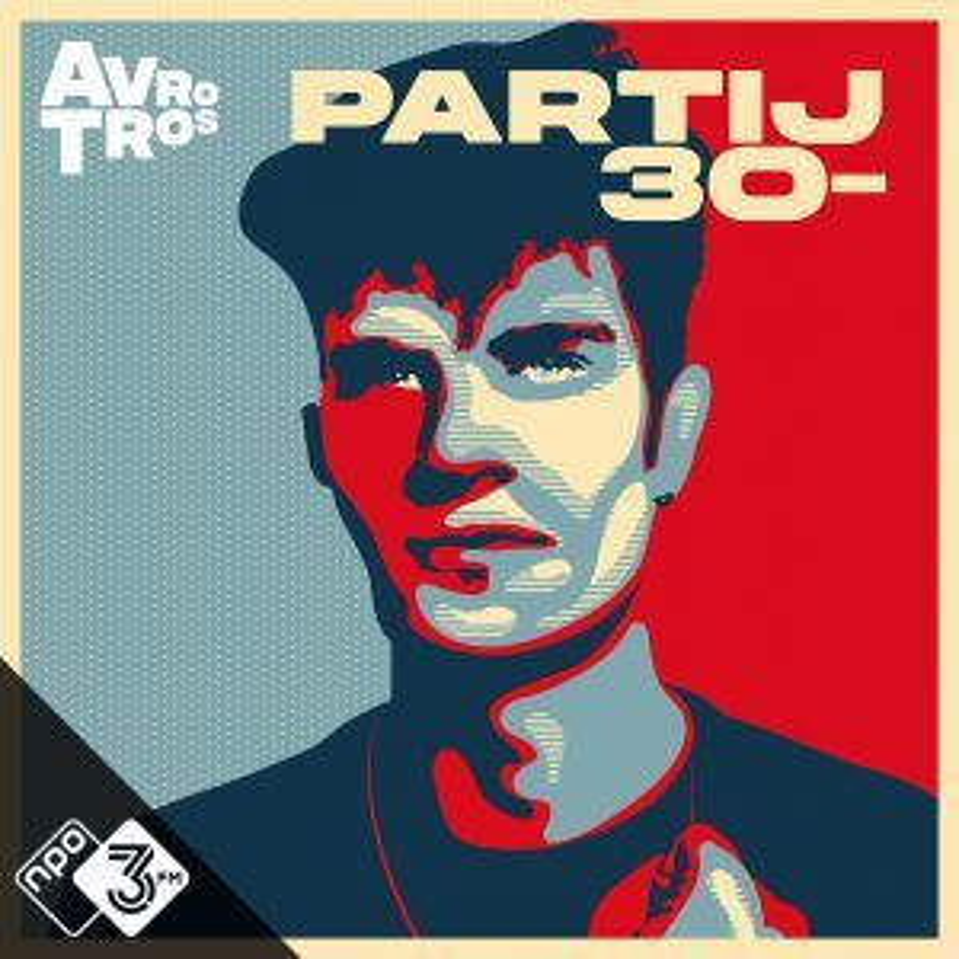 3FM-dj Olivier over zijn (fictieve) jongerenpartij: 'Partij 30- is niet links of rechts'