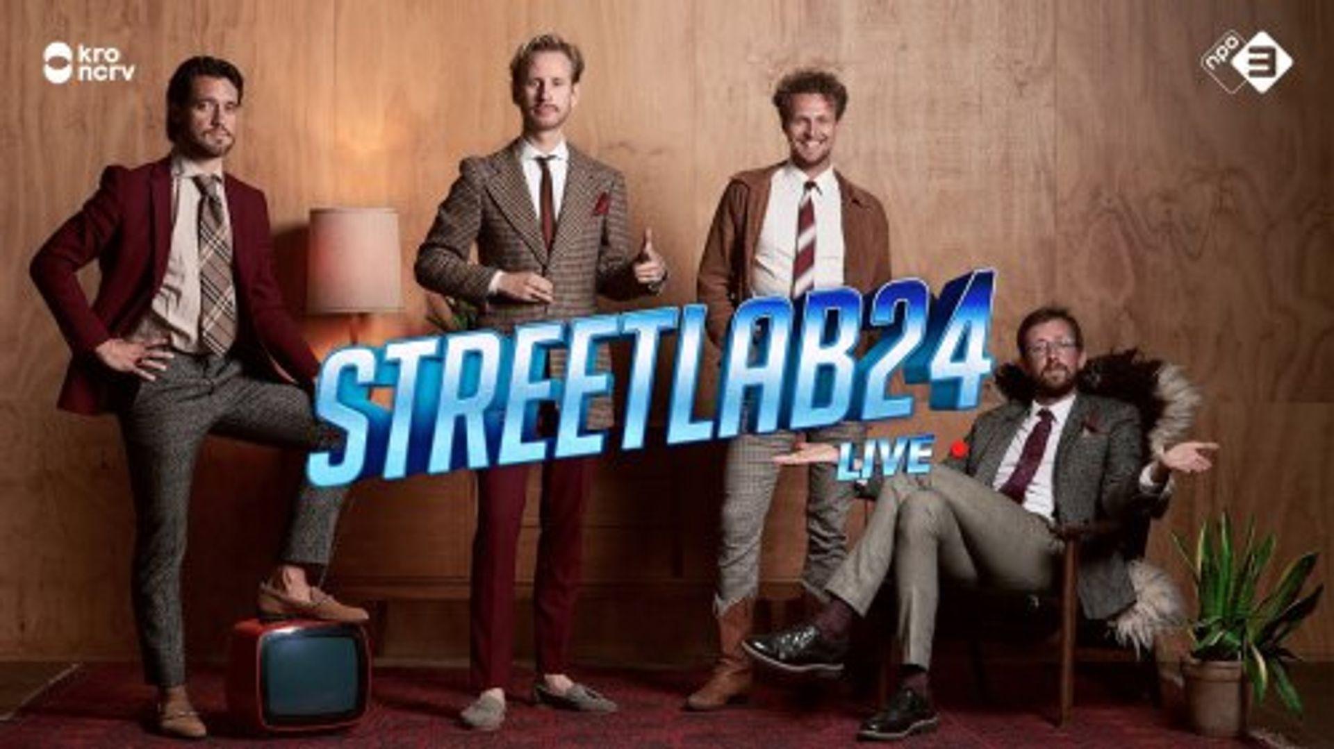 Tim Senders vertelt over de speciale 24-uurs uitzending van Streetlab!