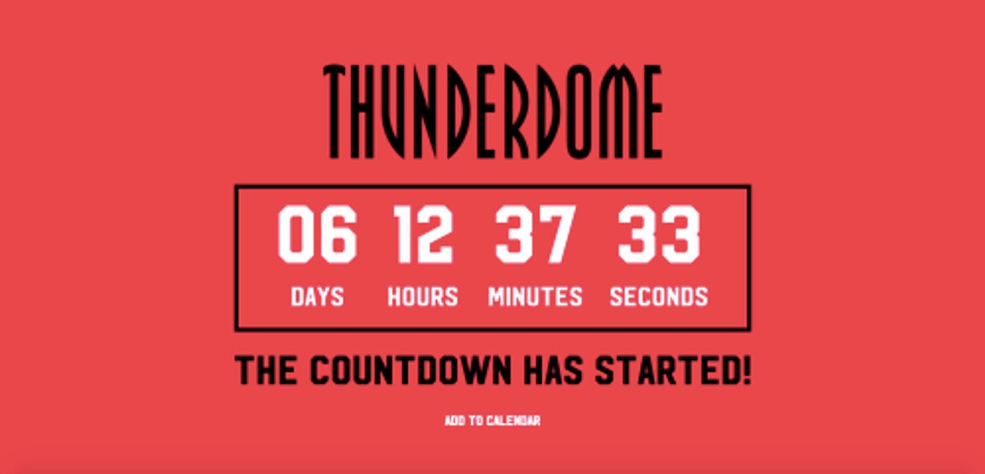 Er komt een nieuwe Thunderdome editie en Erik zit al klaar voor kaartjes