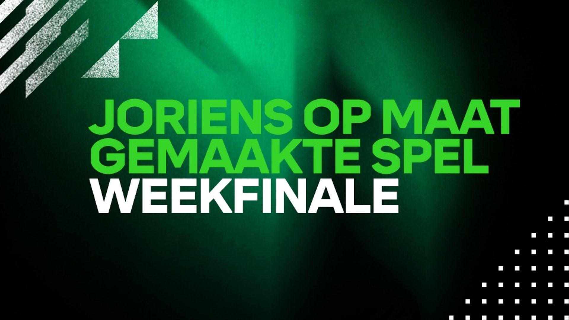 HET OP MAAT GEMAAKTE SPEL - DE FINALE: WEEK 43
