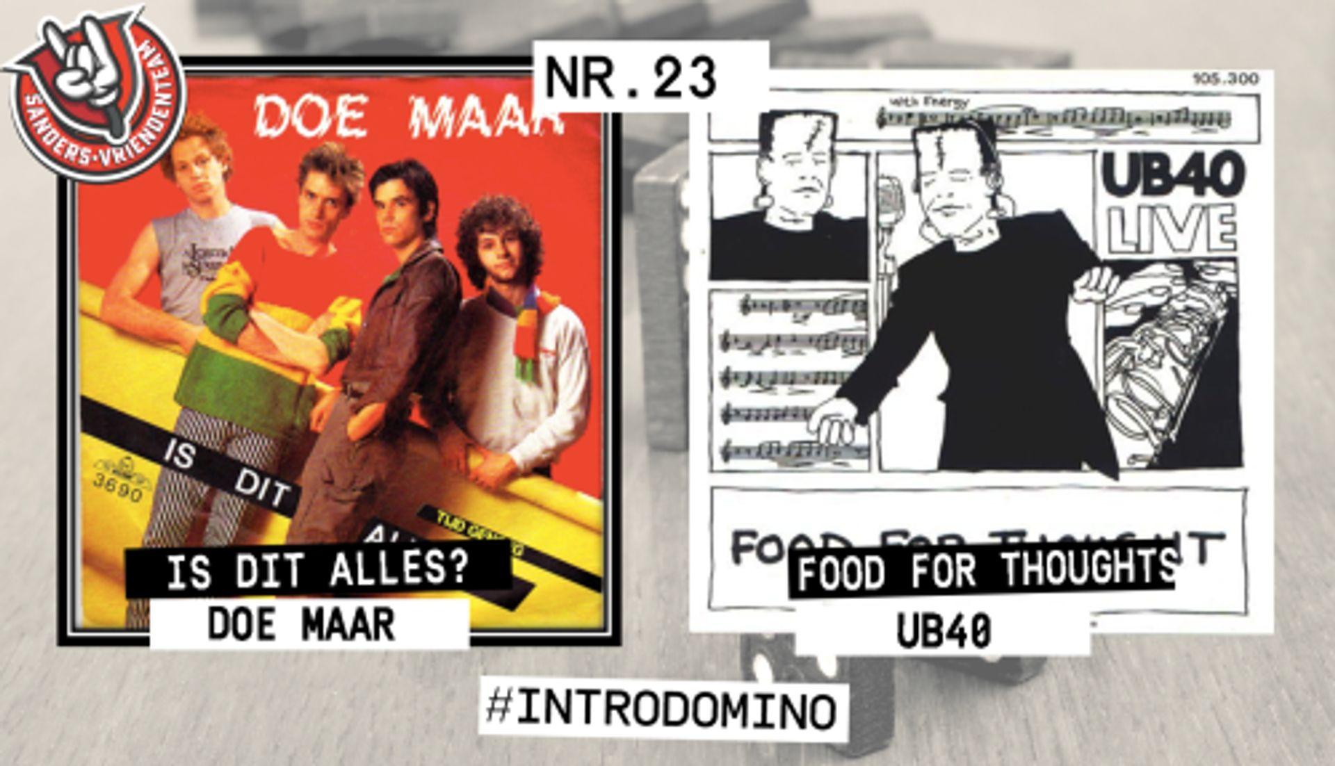 INTRO DOMINO: Doe Maar & UB40