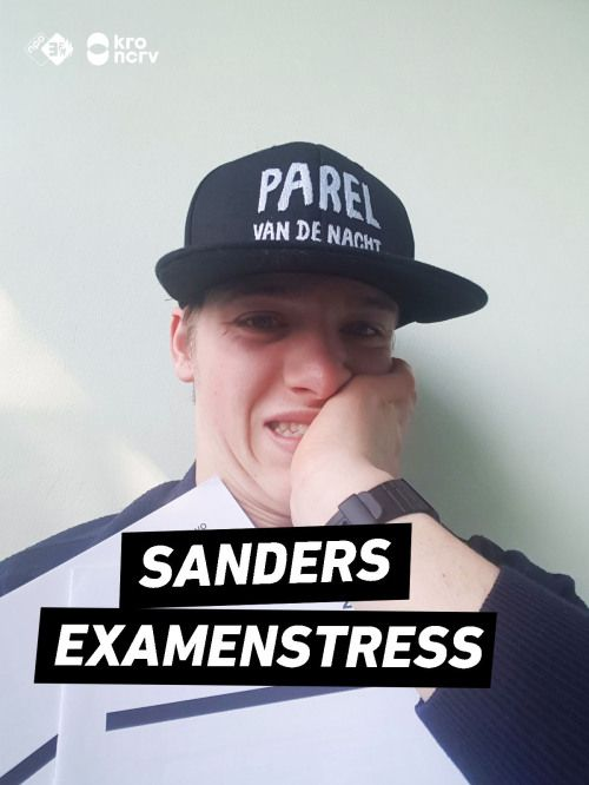 Sanders Examen Stress van donderdag 16 mei! #3FM #examen