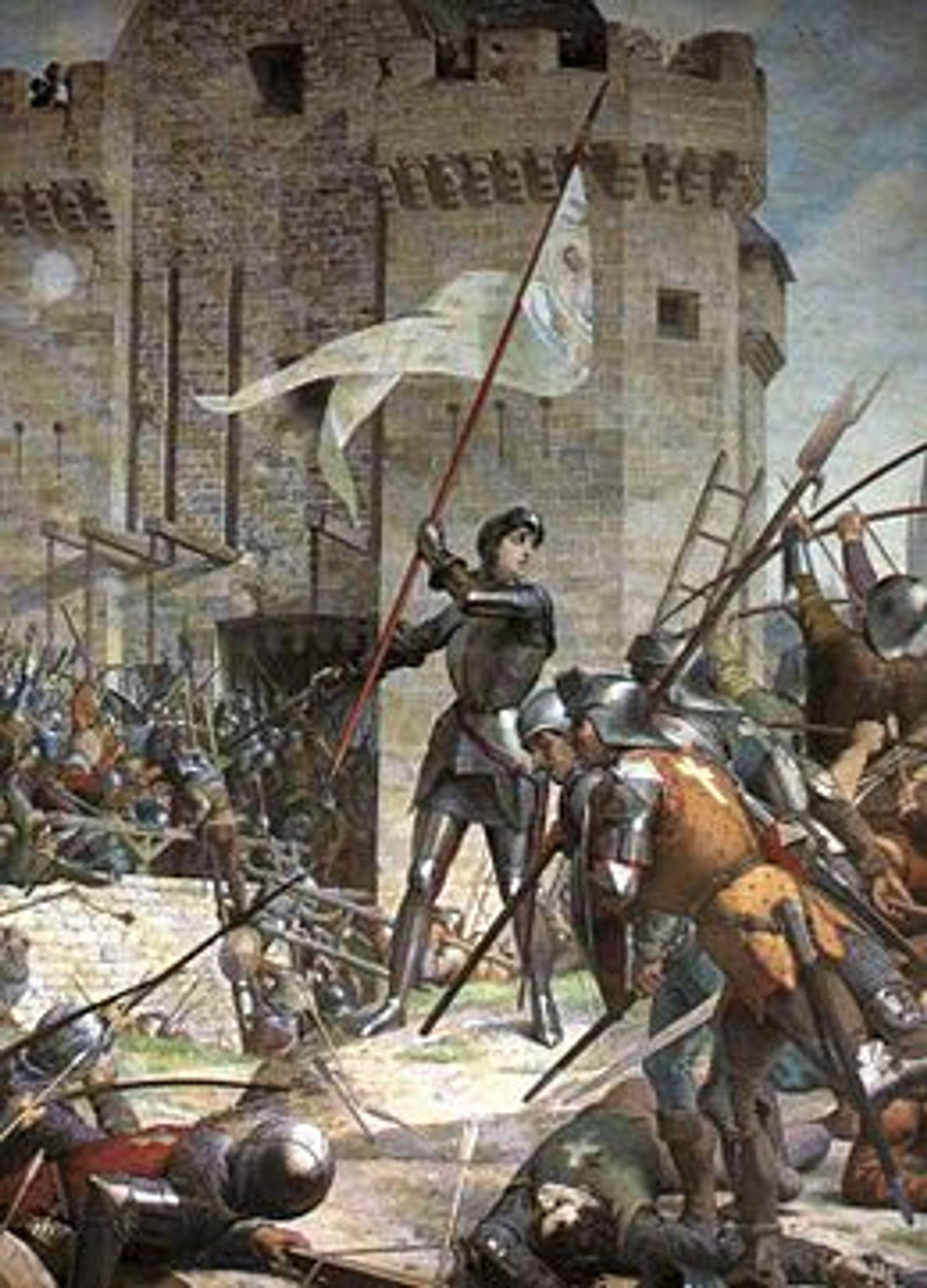 Vrouwen die de wereldgeschiedenis hebben gemaakt: Jeanne d'Arc