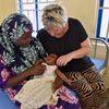 Tineke Ceelen aan de frontlinie in Nigeria