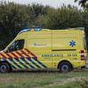 Ambulancepersoneel voert actie