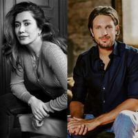 Zaterdag 6 februari presenteerthet presentatieduo van de talkshow 'De Vooravond' Renze Klamer en Fidan Ekiz Een goedemorgen met....
