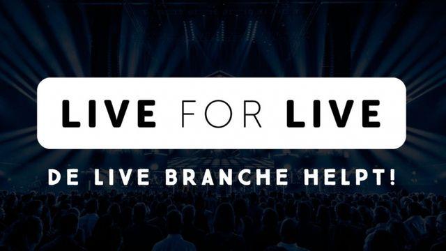 Nathan Reinds zet met Live for Live in op bedrijven en zzp'ers uit de live branche