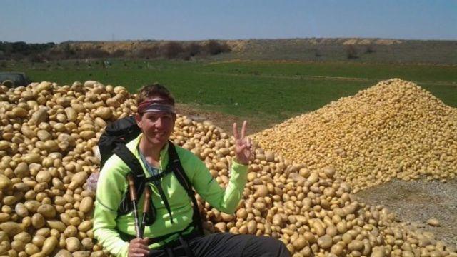 Remco Roovers' pelgrimstocht naar Santiago, 3e week