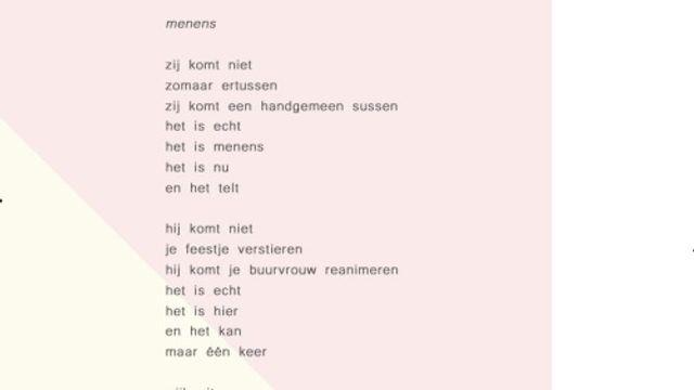 Gedicht Merel Morre