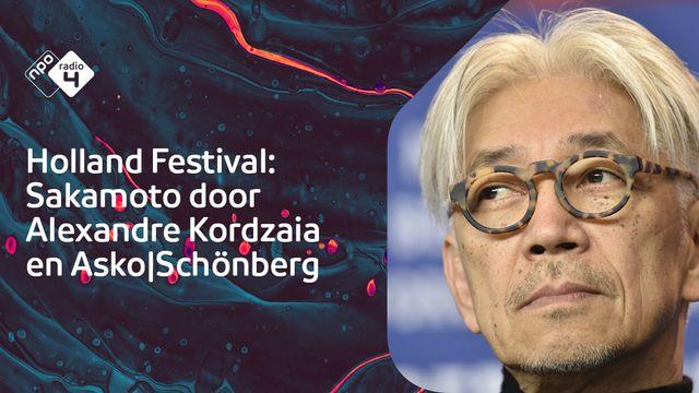 Concert Kordz x Sakamoto door Asko|Schönberg
