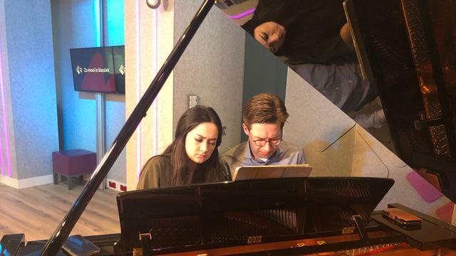 Pianoduo Scholtes & Janssens - Bach - Live @ De Klassieken - 16-2-2021