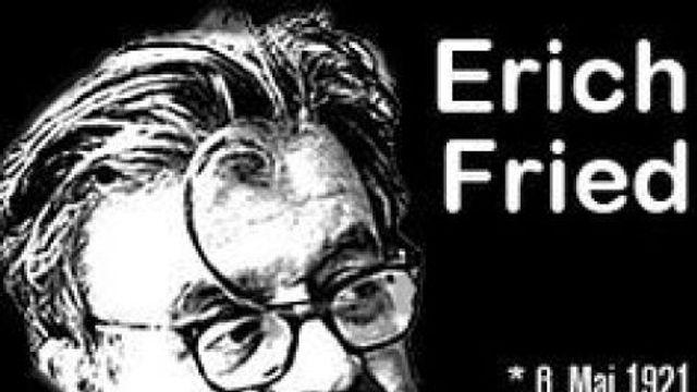 Poëzie: Gesprek met een overlevende, van Erich Fried