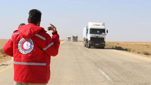 Rode Kruis bezorgd over vluchtelingenkampen Syrië
