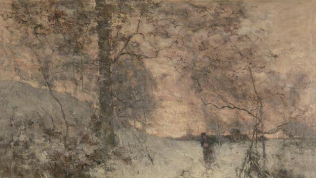 Gedicht: Sneeuwavond, van H.C. ten Berge