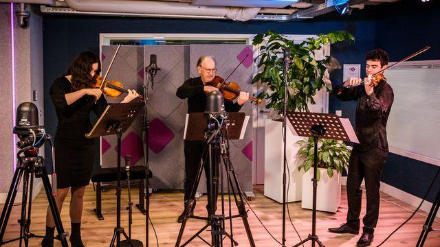Trio Rusanovsky - Dvorak - 15-4-2021 live @ DKL