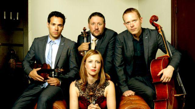 Livemuziek van het Matangi Quartet