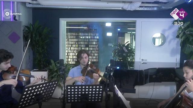 Live @ De Klassieken: Strijktrio Van Pouck, Kovalev & Waarts: Dohnanyi