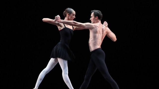 Ballerina Floor Eimers danst Hans van Manen