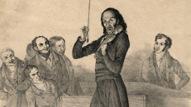 "Nicolo Paganini - Capriccio's voor viool (24), op.1 - nr.24 in a kl.t., ""Tema quasi presto - 11 vari"
