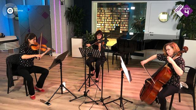 The Hague String Trio_Gideon Klein - Strijktrio I. Allegro_Live @ De Klassieken