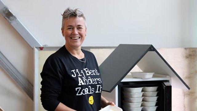 Restaurants doneren eten in koelkastjes