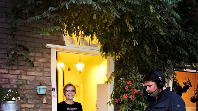 De Stembus bij dichter Vrouwkje Tuinman in Utrecht