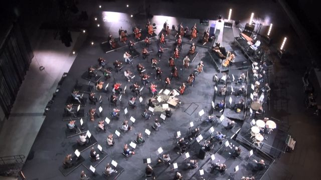 Reportage Rotterdams Philharmonisch Orkest in Ahoy