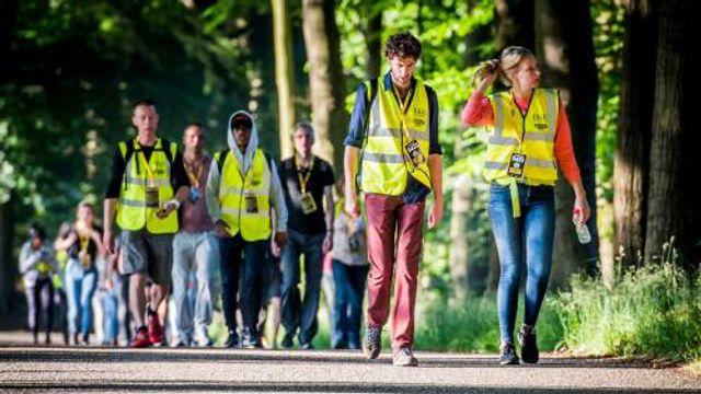 Kilometers lopen voor Nacht van de Vluchteling